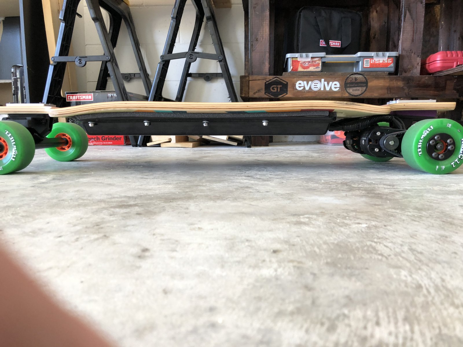 For Sale  [USAFL] Custom Electric Skateboard 30  mph $1150  Electric Skateboard Forum