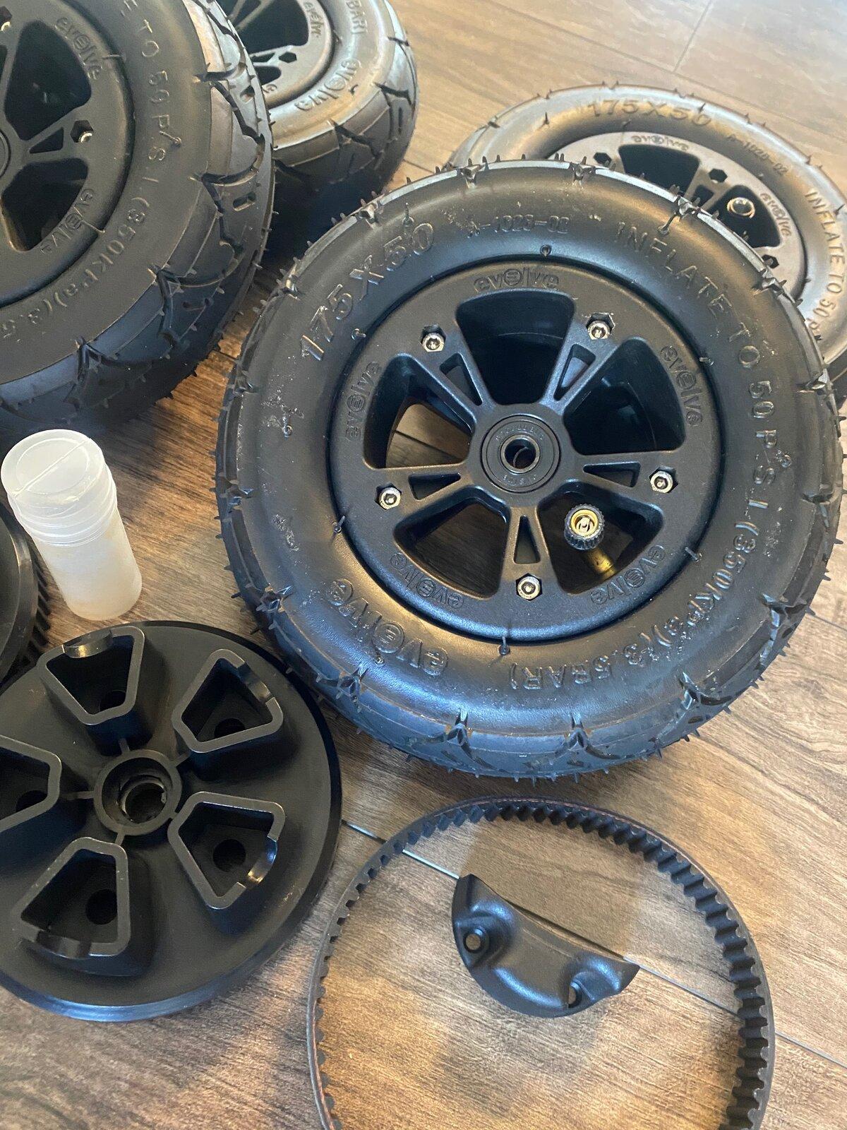 Evolve All Terrain Wheels Conversion For Sale 2.jpg