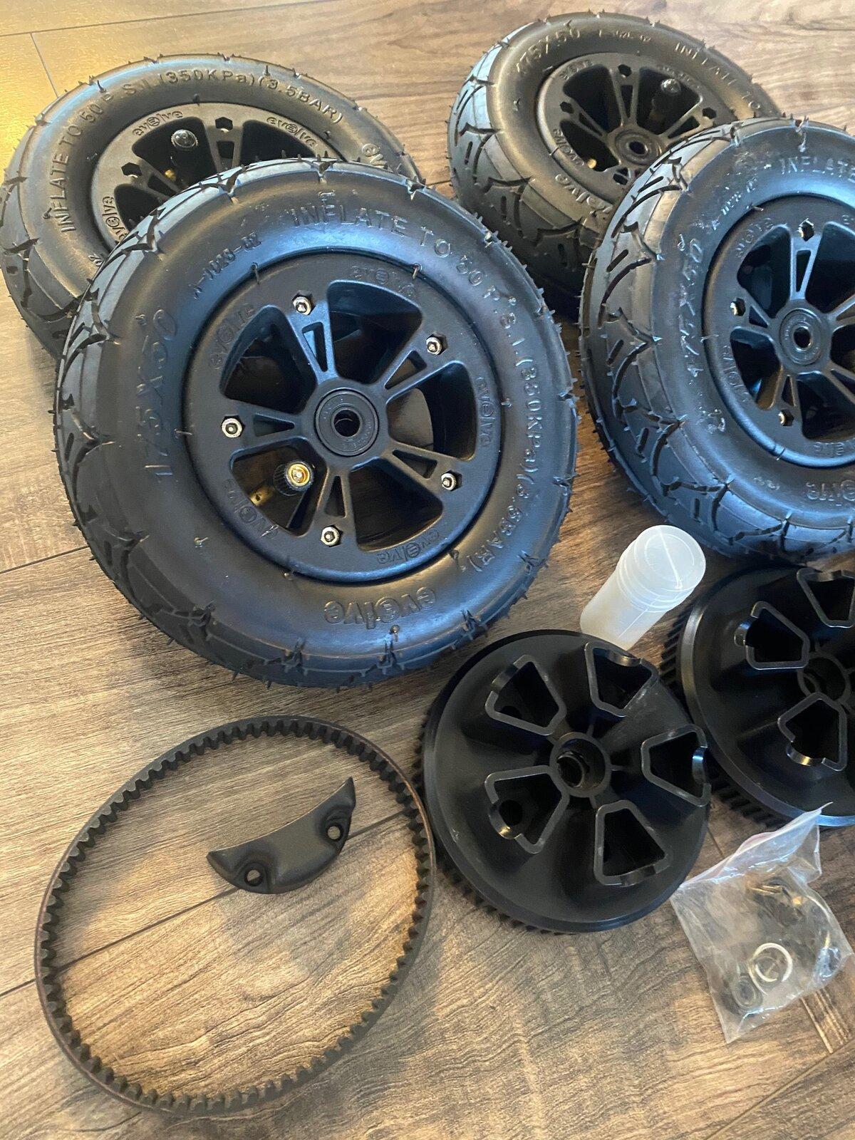 Evolve All Terrain Wheels Conversion For Sale 3.jpg