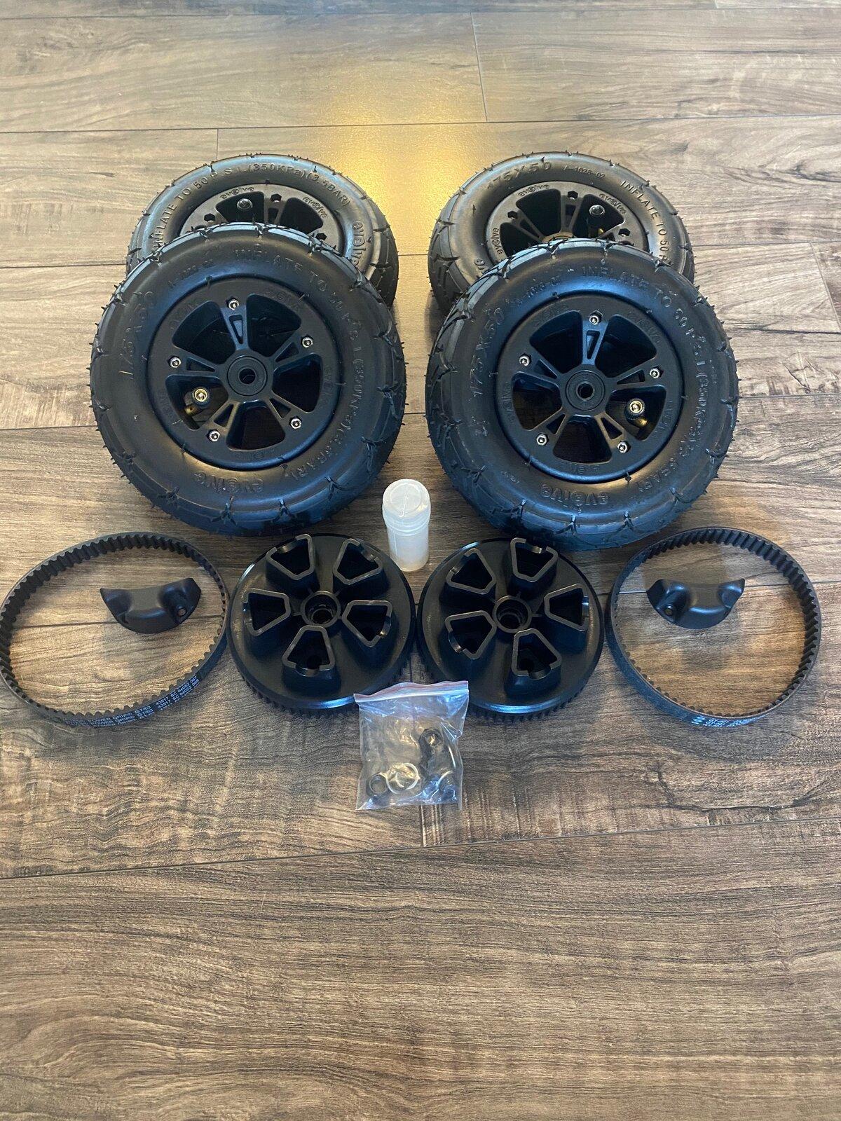 Evolve All Terrain Wheels Conversion For Sale 4.jpg