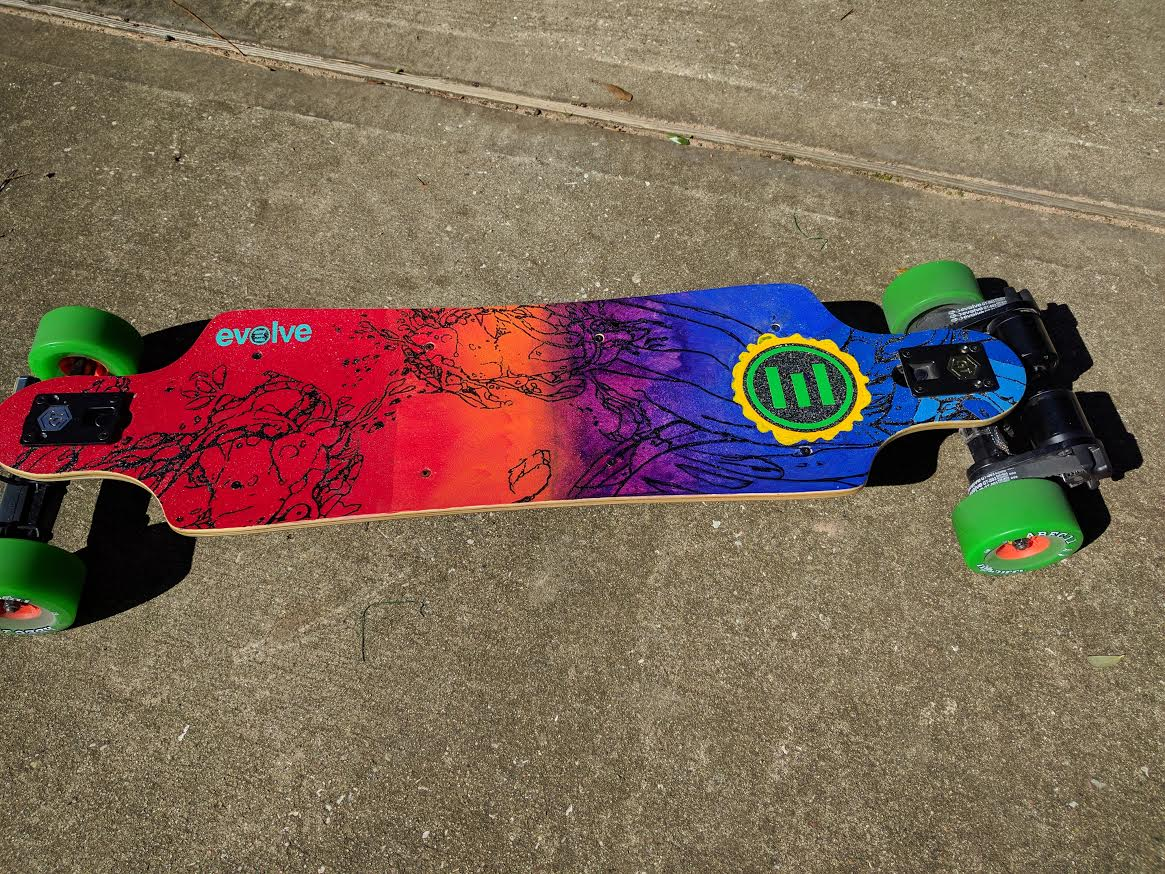 New Paint Electric Skateboard Forum Evolve Skateboards