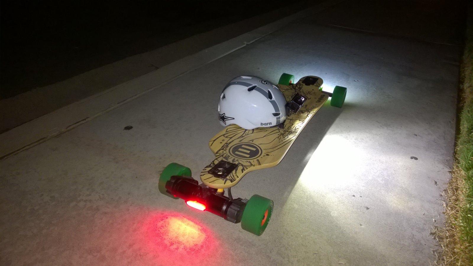Lights Electric Skateboard Forum Evolve Skateboards