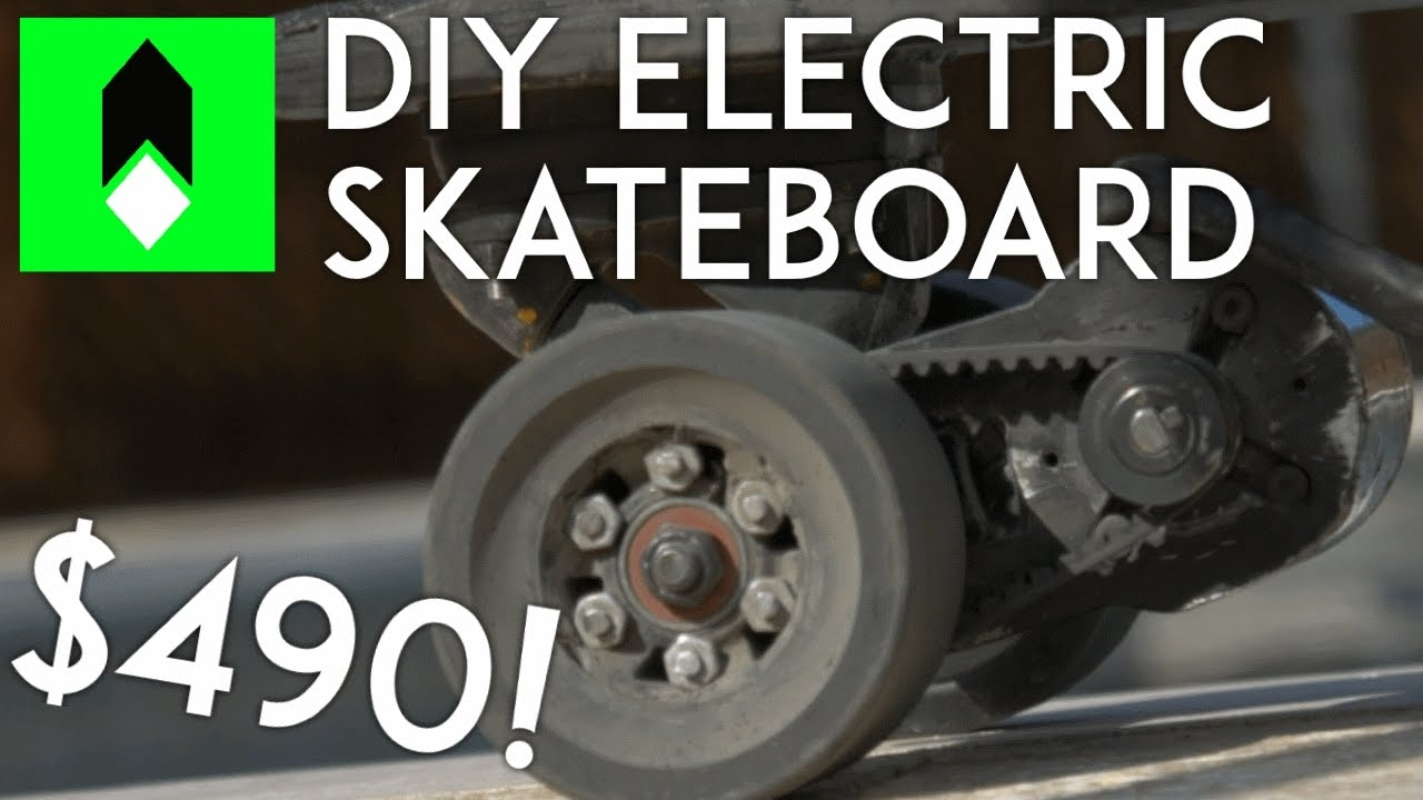 Video Quot Diy Electric Skateboard For 490 Quot In The Album Quot Diy