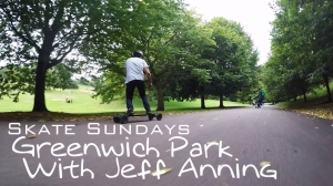 Evolve Electric Skateboards - (Skate Sundays) Greenwich Park With Jeff Anning