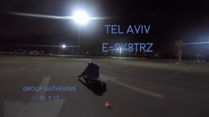 Electric skateboard - Tel Aviv Esk8rz night gathering