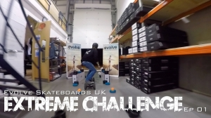 Evolve Skateboards UK - Extreme Challenge Series!