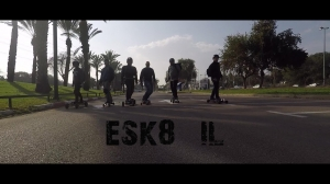 Electric Skateboard: The first group ride of 2018 ESK8 - IL